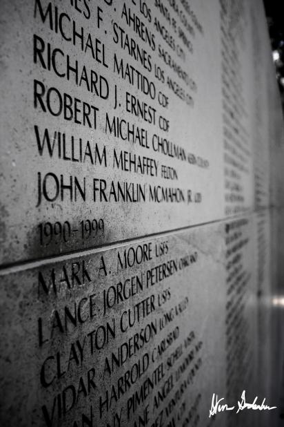 Firefighter Wall Memorial