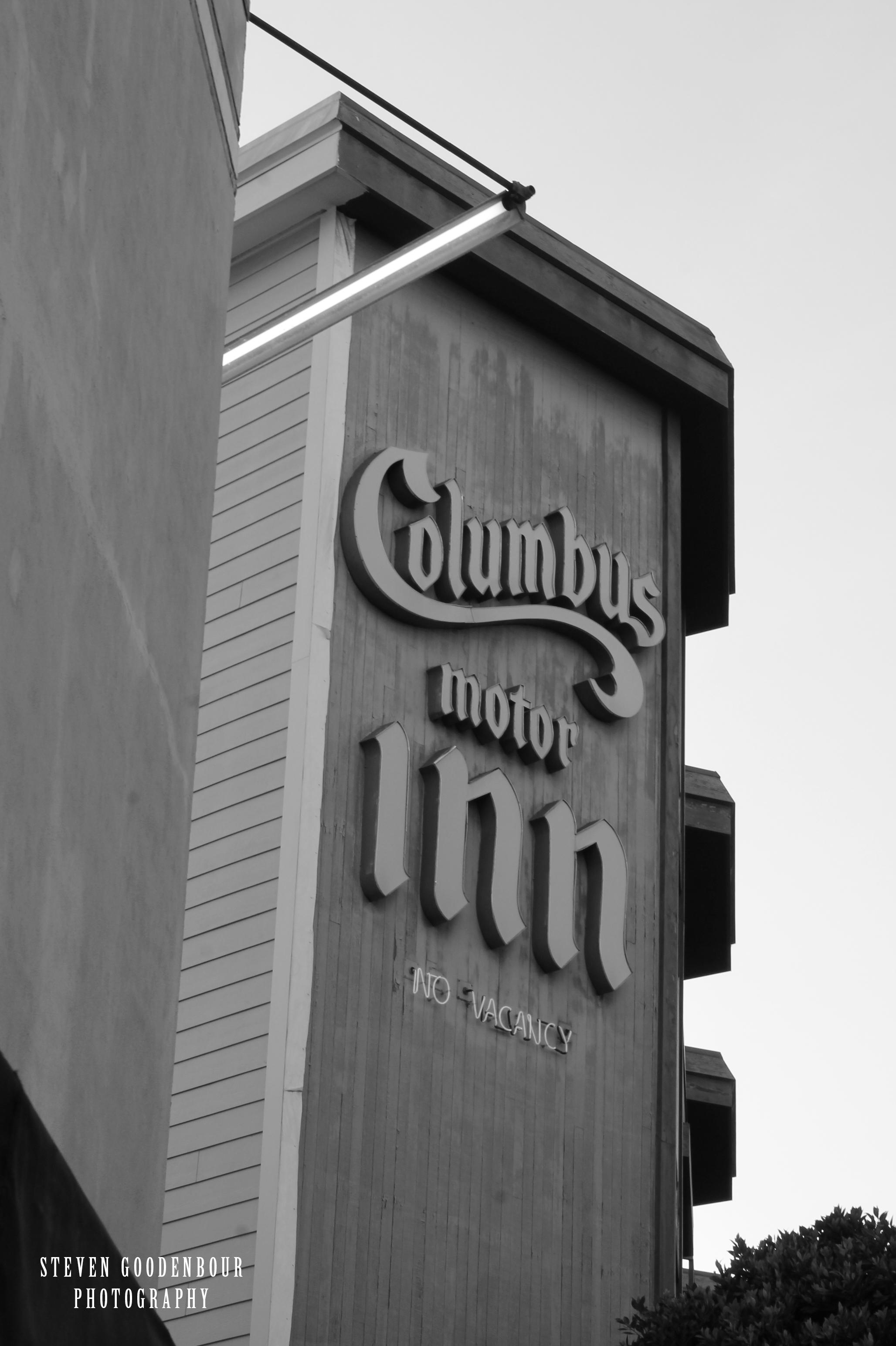 Columbus Motor Inn Steven Goodenbour Photography