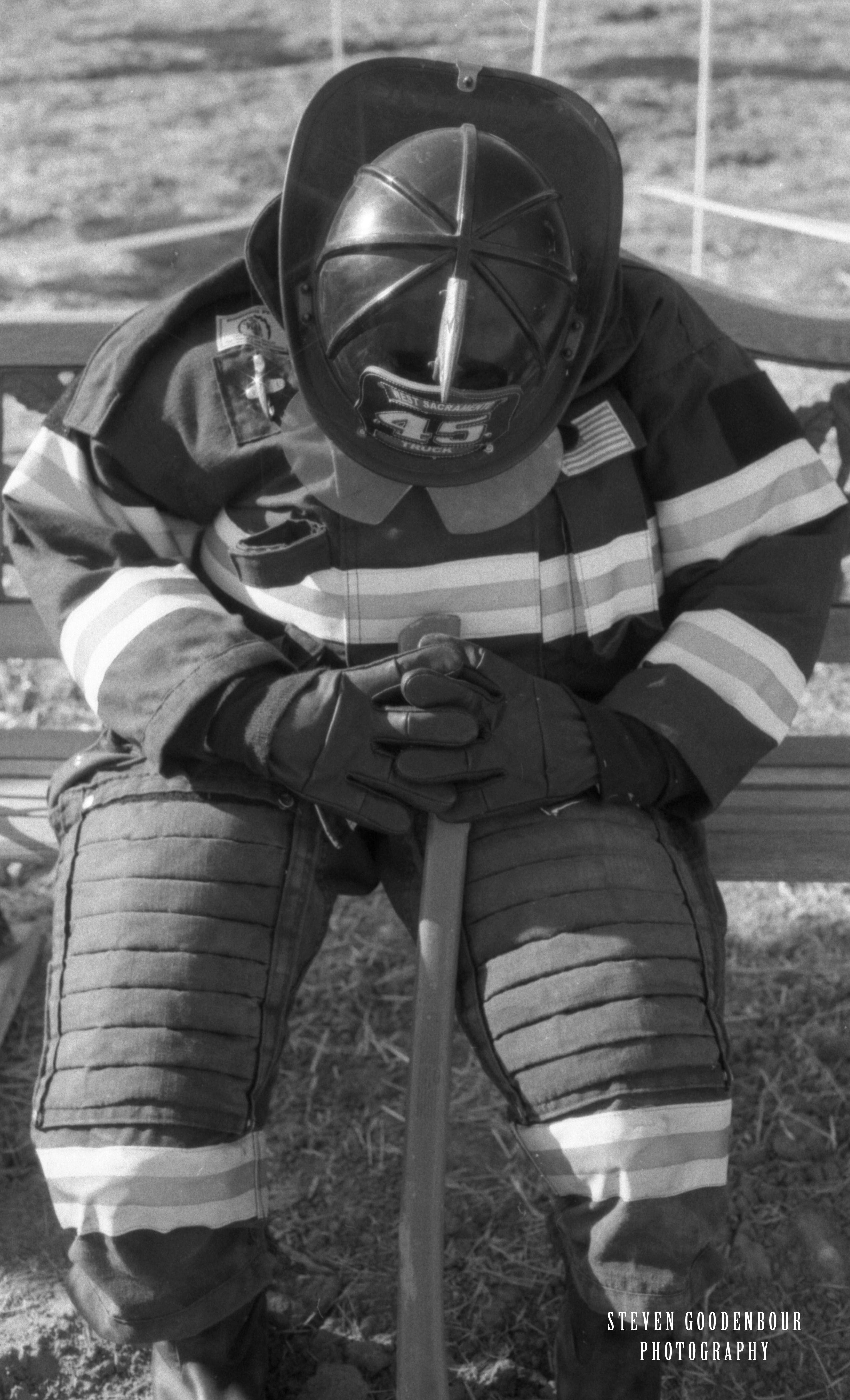 Firefighter Steven Goodenbour Photography