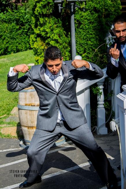 Gabe Flexing